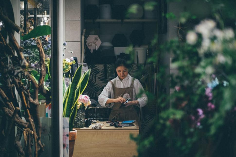 台北文青花店