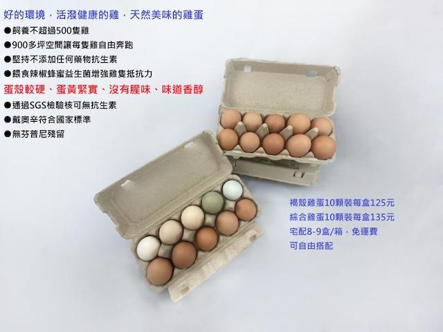 厚德牧場 雞蛋