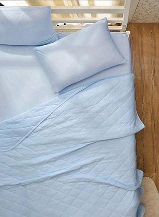 沁麗微涼 雙人 日式涼感纖維 床包組