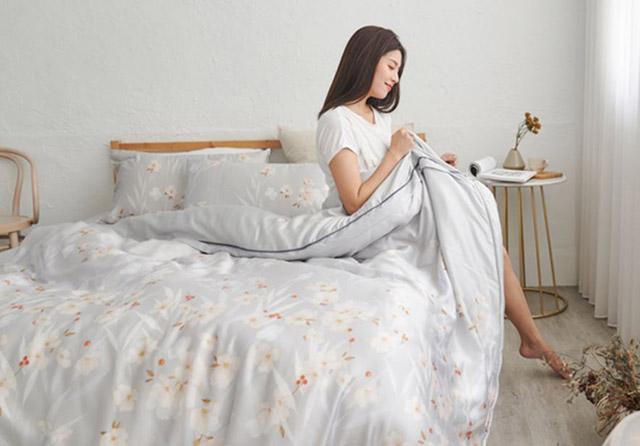奧地利100%TENCEL涼感純天絲3.5尺單人床包
