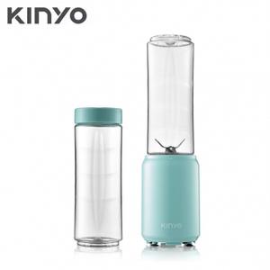 【KINYO】 多功能迷你隨行杯果汁機/榨汁機-雙杯組