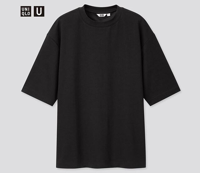UNIQLO 優衣庫 -AIRism 棉質寬版圓領T恤