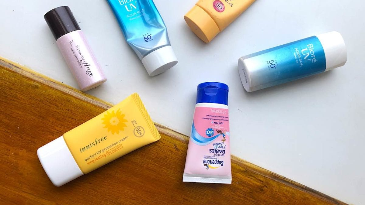 2021夏日備戰!防曬乳、隔離霜挑選、使用順序、常見問題整理
