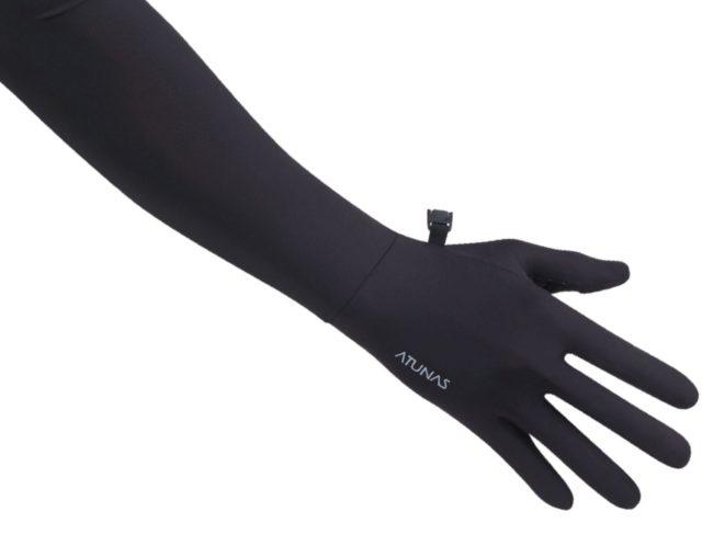歐都納女款冰絲涼感長袖手套