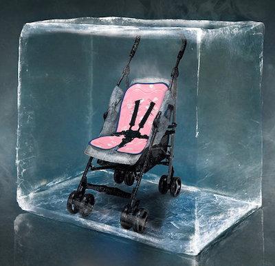 法國BebeFolie 冰心沁涼 推車墊