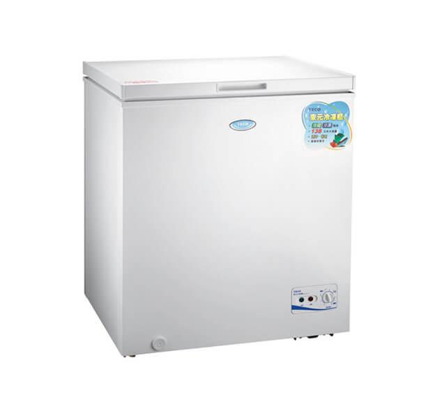 TECO 東元 138L上掀式單門冷凍櫃 RL1417W
