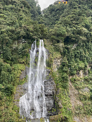 烏紗溪瀑布