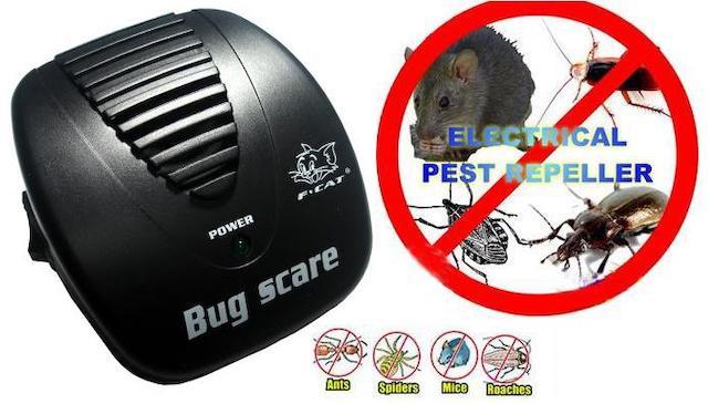 黑貓 第四代 全自動變頻頻率掃描超音波驅鼠器 驅蟲器
