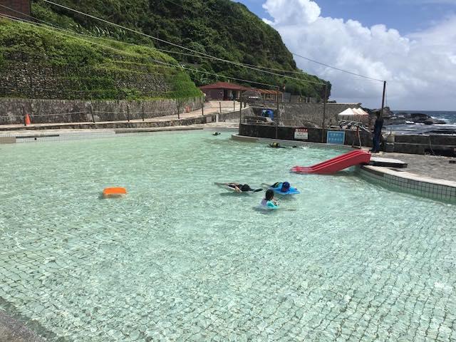 天然海水戲池