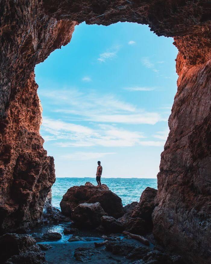 高雄柴山秘境海灘