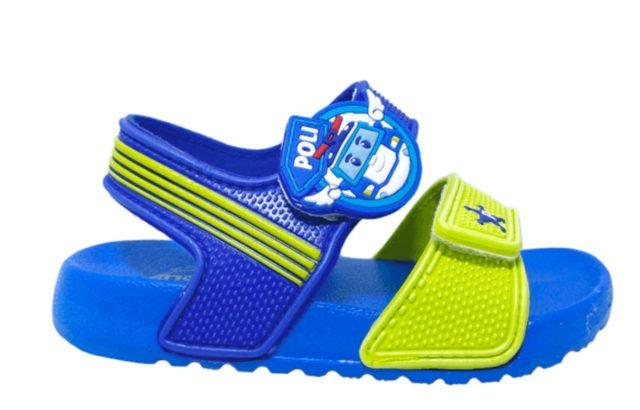 救援小隊POLI兒童防水涼鞋