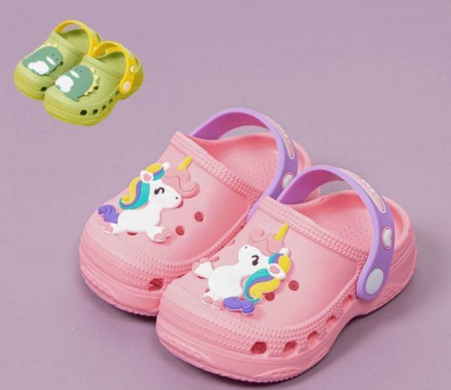兒童洞洞防水涼鞋