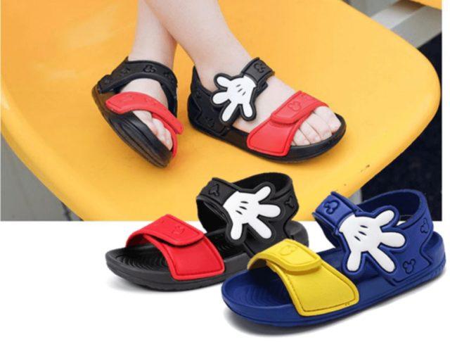 米奇防水涼鞋(男童)