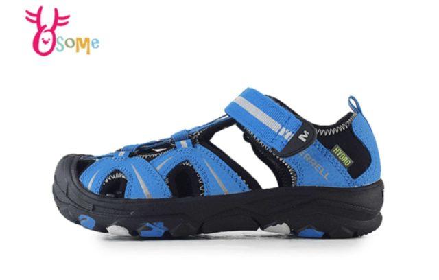 MERRELL兒童防水涼鞋