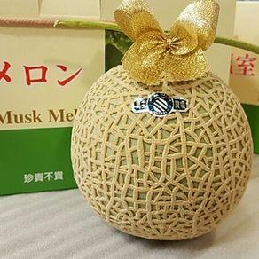 ((德記水果禮盒))♥日本靜崗品種台灣溫室哈密瓜