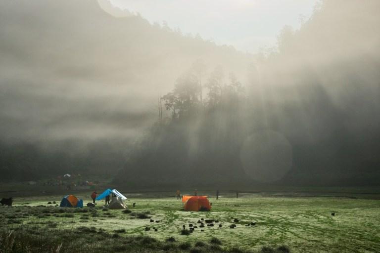 宜蘭旅遊 | 宜蘭松蘿湖懶人包:交通、健行路況、露營注意事項
