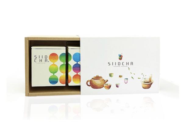 窨香食茶禮盒(水蜜桃烏龍X荔枝烏龍)