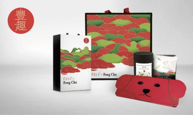 豐趣禮盒(蜜香烏龍散茶+袋茶)
