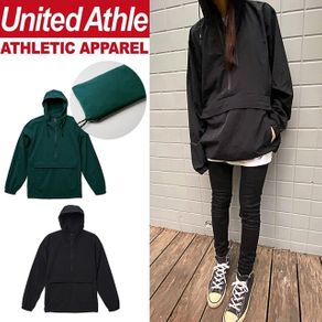分享 United Athle機能可收納口袋風衣 oversize衝鋒衣