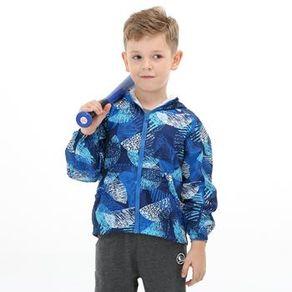 【聖伯納 St.Bonalt】迷彩防風單層衝鋒衣–童款