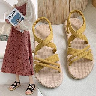 推薦品項:仙女風度假沙灘涼鞋