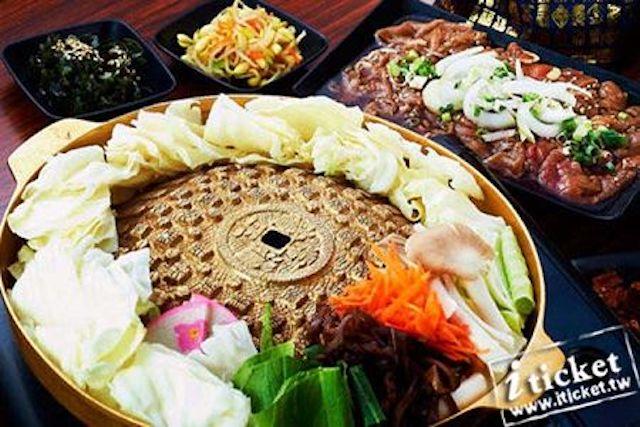 高雄韓金閣韓式料理雙人韓式烤肉套餐券