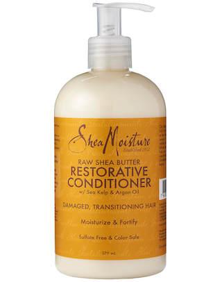 Shea Moisture 非洲原生態乳油木果脂修復免洗護髮素