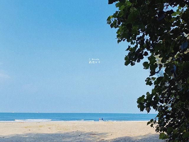 台南 漁光島沙灘