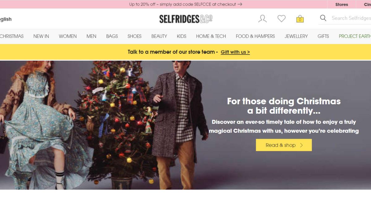 黑五嗨購特輯 2020 selfridges 黑色星期五、聖誕折扣整理,最低3折起