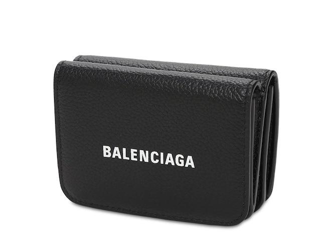 BALENCIAGA LOGO皮革名片夾卡包