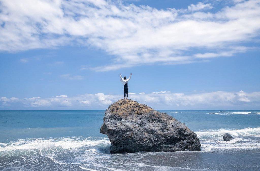 台東旅遊|台東長濱海景民宿推薦,讓你躺著就能看海