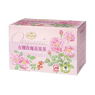 曼寧有機玫瑰花果茶(1.5g*20入)x2盒
