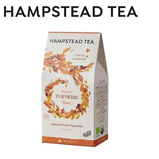 HAMPSTEAD TEA 英國漢普斯敦有機薑黃茶(茶包15入)