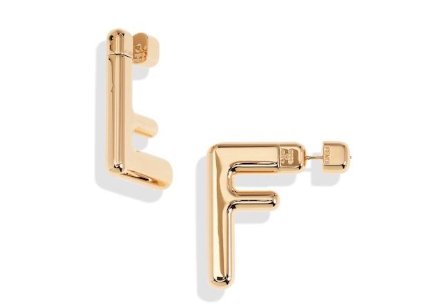 FENDI Double-F Logo 耳環