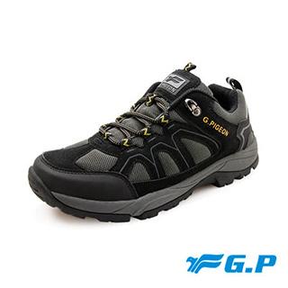 G.P 男款登山休閒鞋 P5881M 黑色